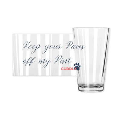 Paws Pint Glass