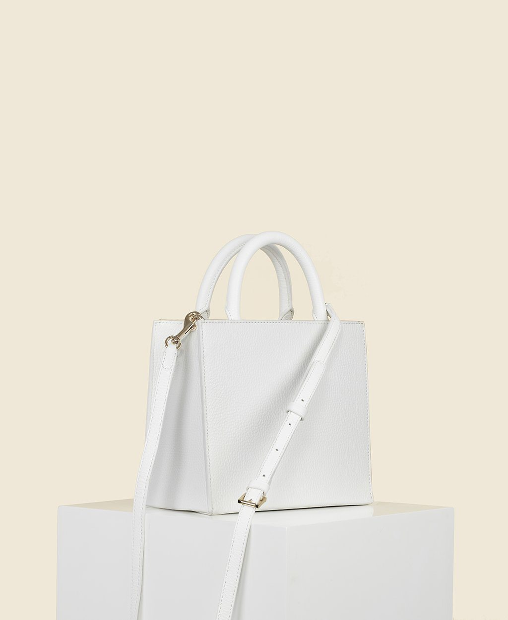 Cafuné Cube Tote in White