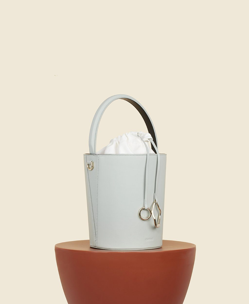 Basket Bucket - Mint