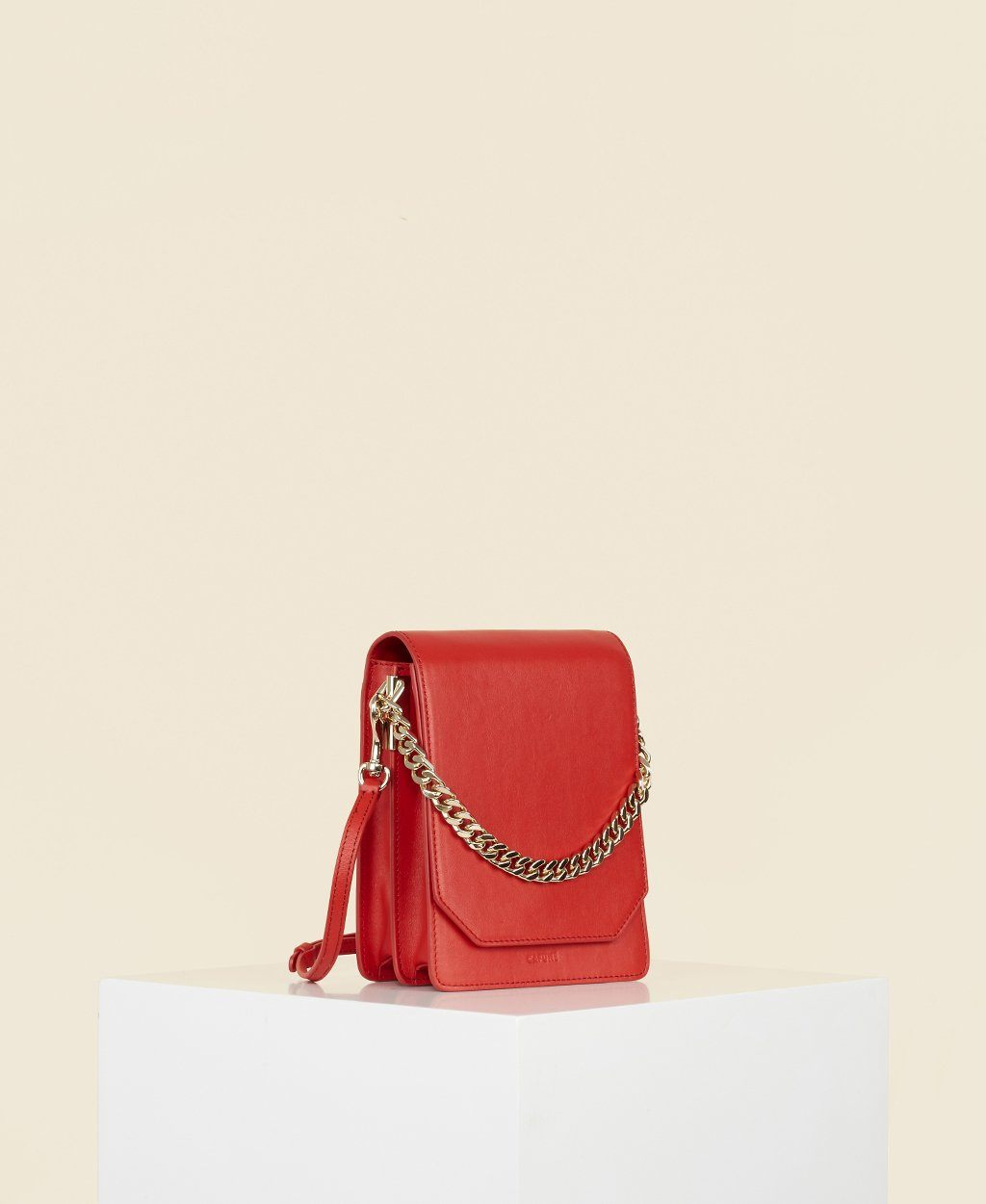 Cafuné Bellows Crossbody in Chili