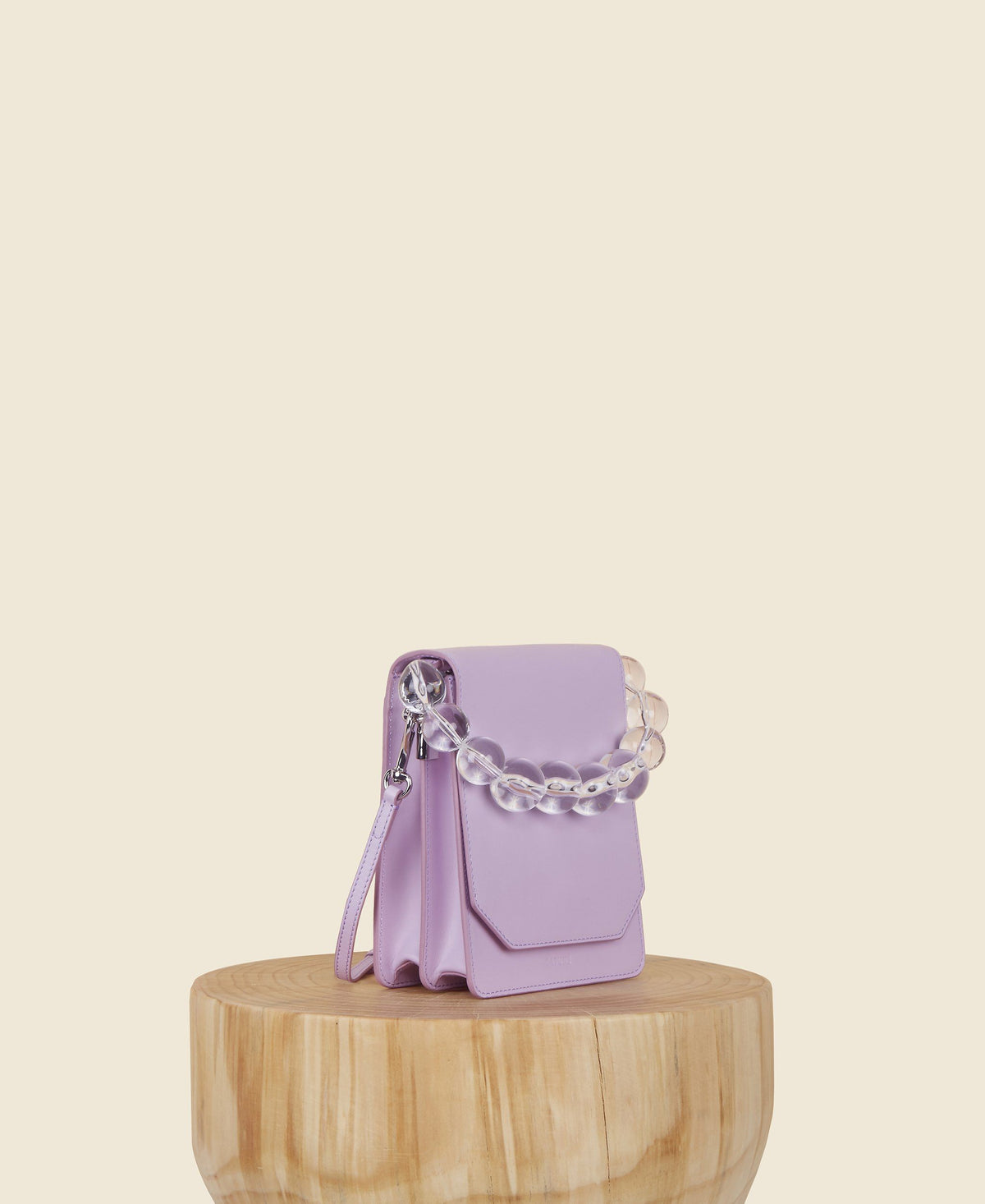 Bellows Crossbody - Lilac