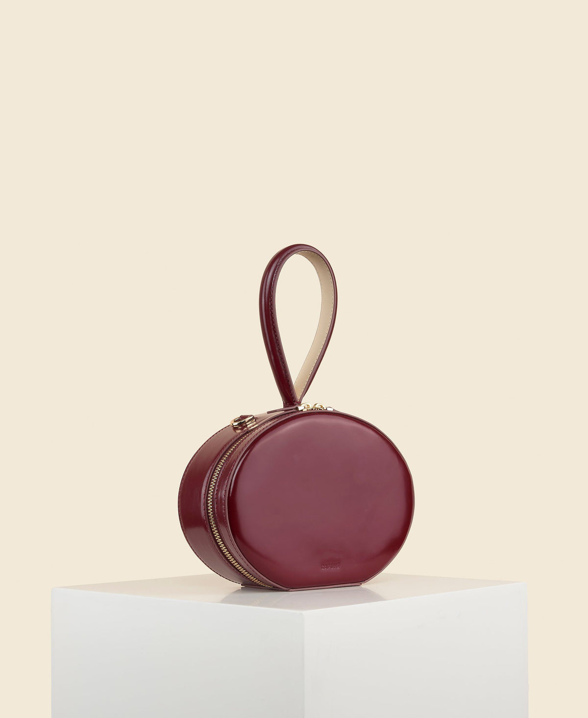 Cafuné Egg Bag in Merlot