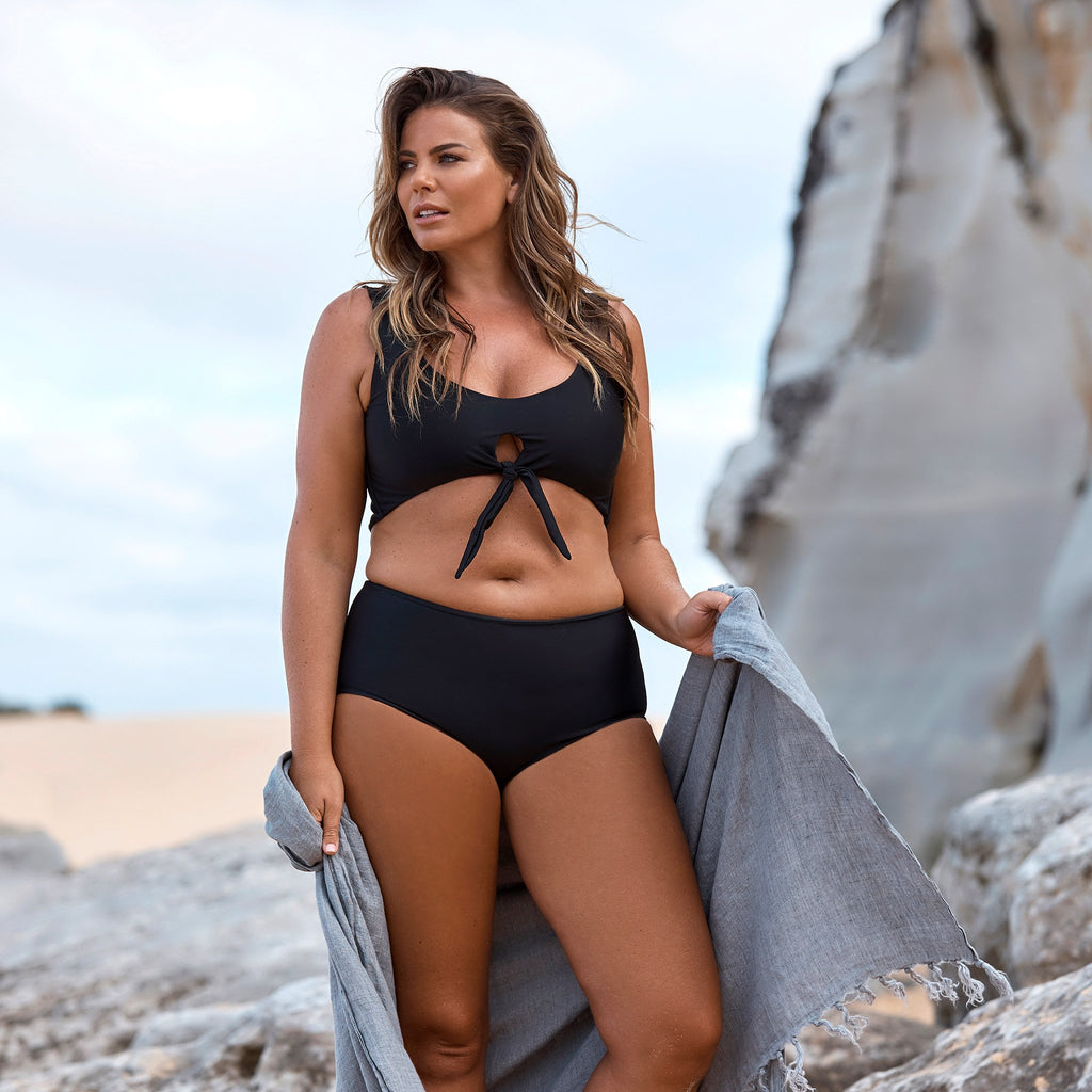 plus size bikini swimsuit for curves