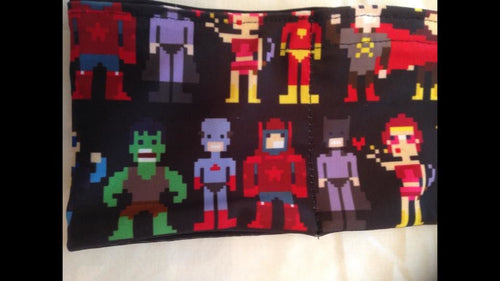 Pixel Heroes Pump Band.