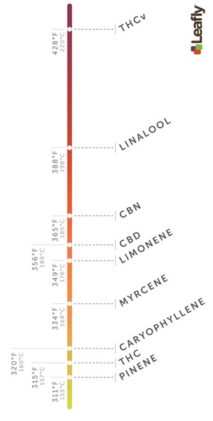 Temperature and Terpenes