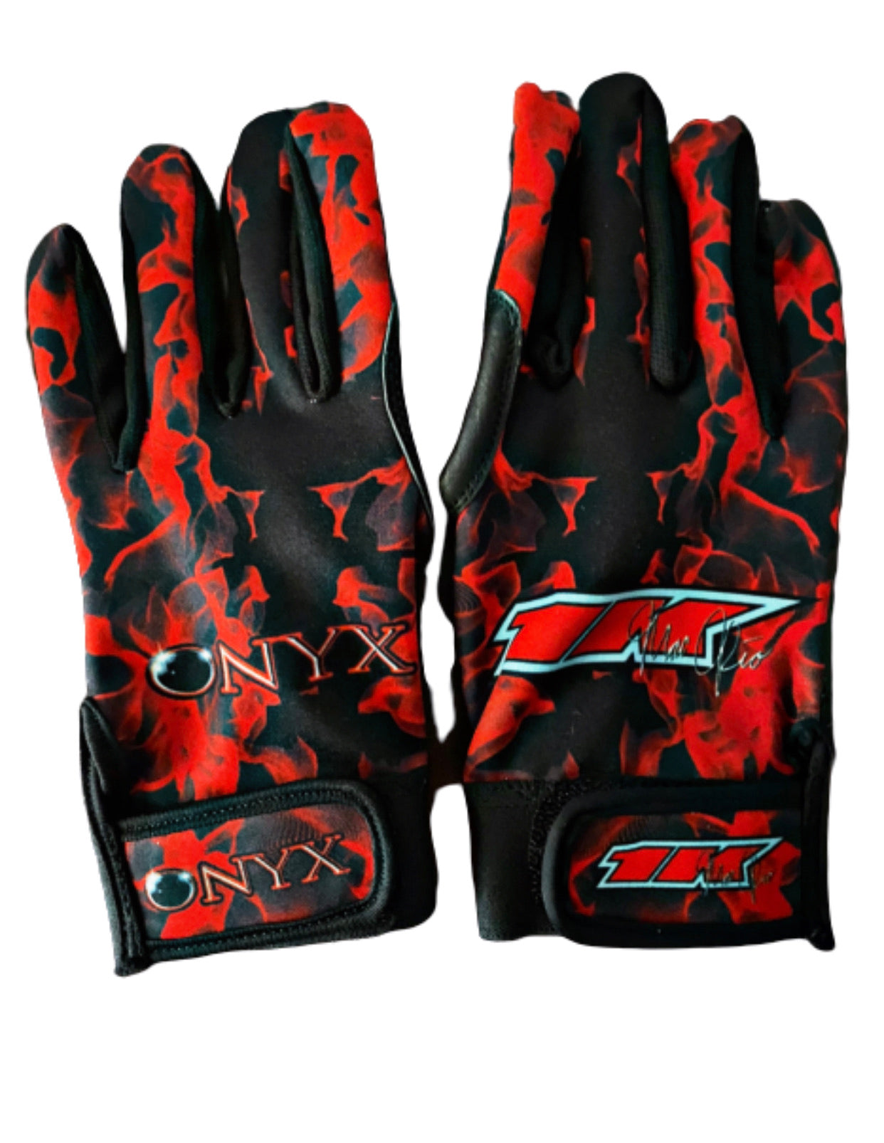 1k Red BATTING GLOVES
