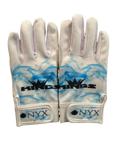 "ONYX KINGS BATTING GLOVES ""WHITE"""