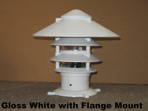 ALUMINUM PAGODA DOCK LIGHTS - Broward Casting