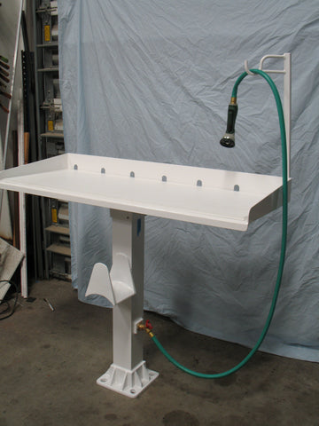 ALUMINUM FISH CLEANING STATION - Broward Casting