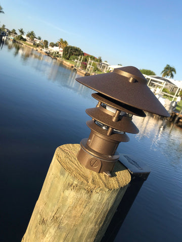 ALUMINUM PAGODA DOCK LIGHTS
