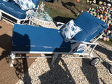 BRAND NEW *SAILFISH SERIES* OUTDOOR  FURNITURE CAST ALUMINUM CHAISE LOUNGE