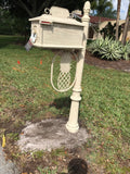 PINAPPLE HIGH QUALITY CAST ALUMINUM MAILBOX