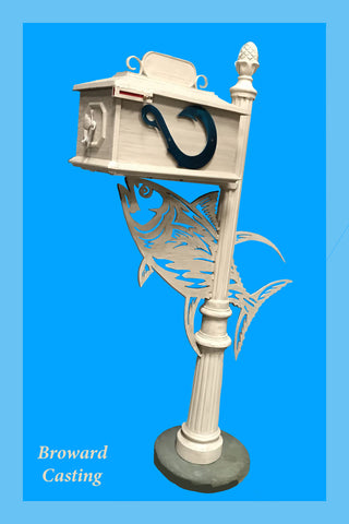 TUNA HIGH QUALITY CAST ALUMINUM MAILBOX