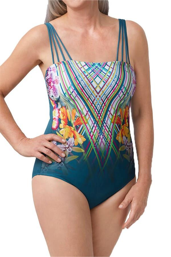 Amoena Havana One Piece Bandeaux Swim