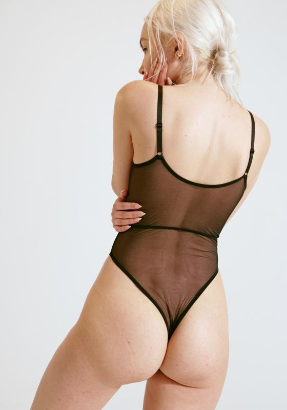 Blush Push Sheer Bodysuit