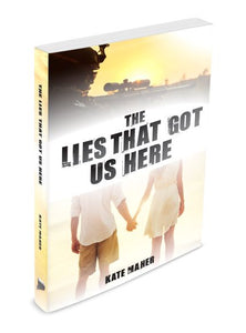 Valentine's Day SALE      The Lies That Got Us Here x 2 - Signed Paperbacks + 2 Bookmarks