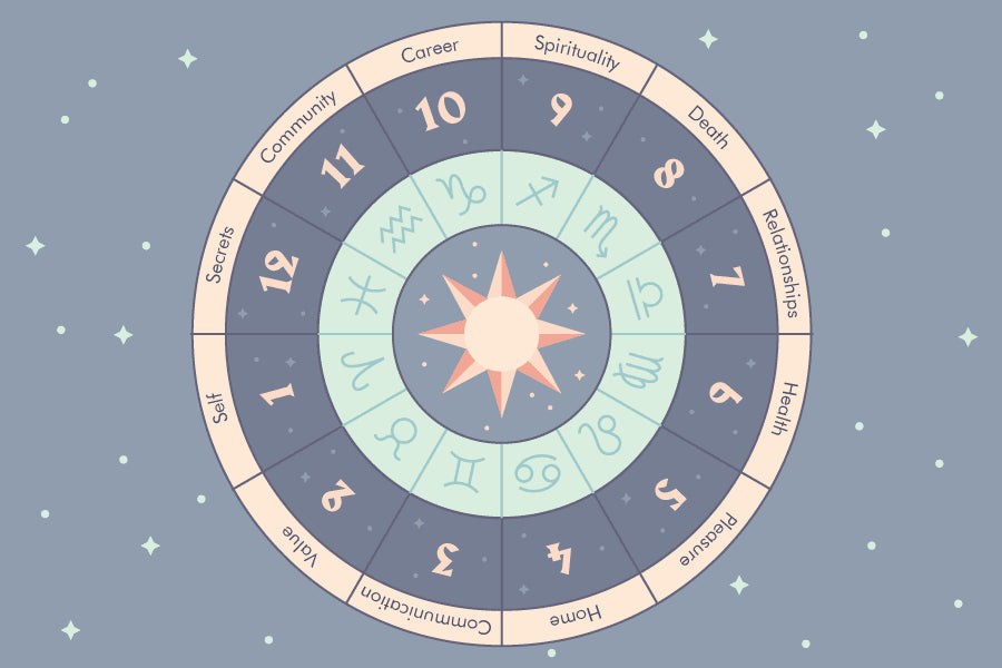 The 12 Houses Of Astrology Learn Astrology And How Houses Affect