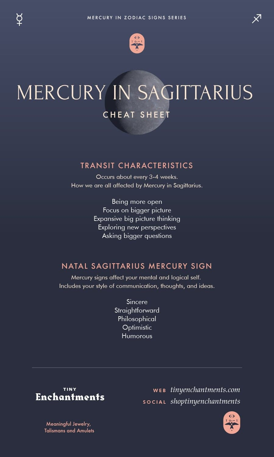 Mercury in Sagittarius - Sagittarius Mercury Sign and Mercury in Sagittarius Transit Meanings
