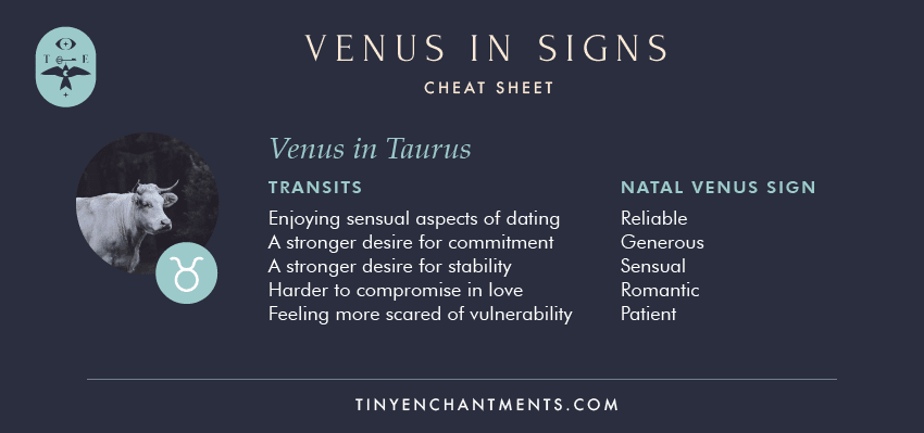 Venus in Taurus / Taurus Venus Sign