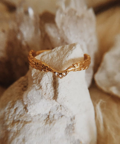 Nike Stacking Ring - Angel Wing, Winged, Feather, Laurel, Leaves, Minimalist, Dainty, Thin, Gold Stackable, Delicate, Cubic Zirconia Ring, CZ - Nike Stacking Ring - Angel Wing, Winged, Feather, Laurel, Leaves, Minimalist, Dainty, Thin, Gold Stackable, Delicate, Cubic Zirconia Ring, CZ