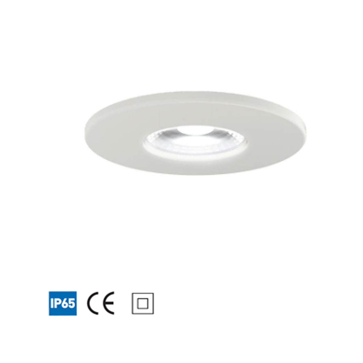 ANSELL Argo LED IP65 Downlight 5W - Cool White