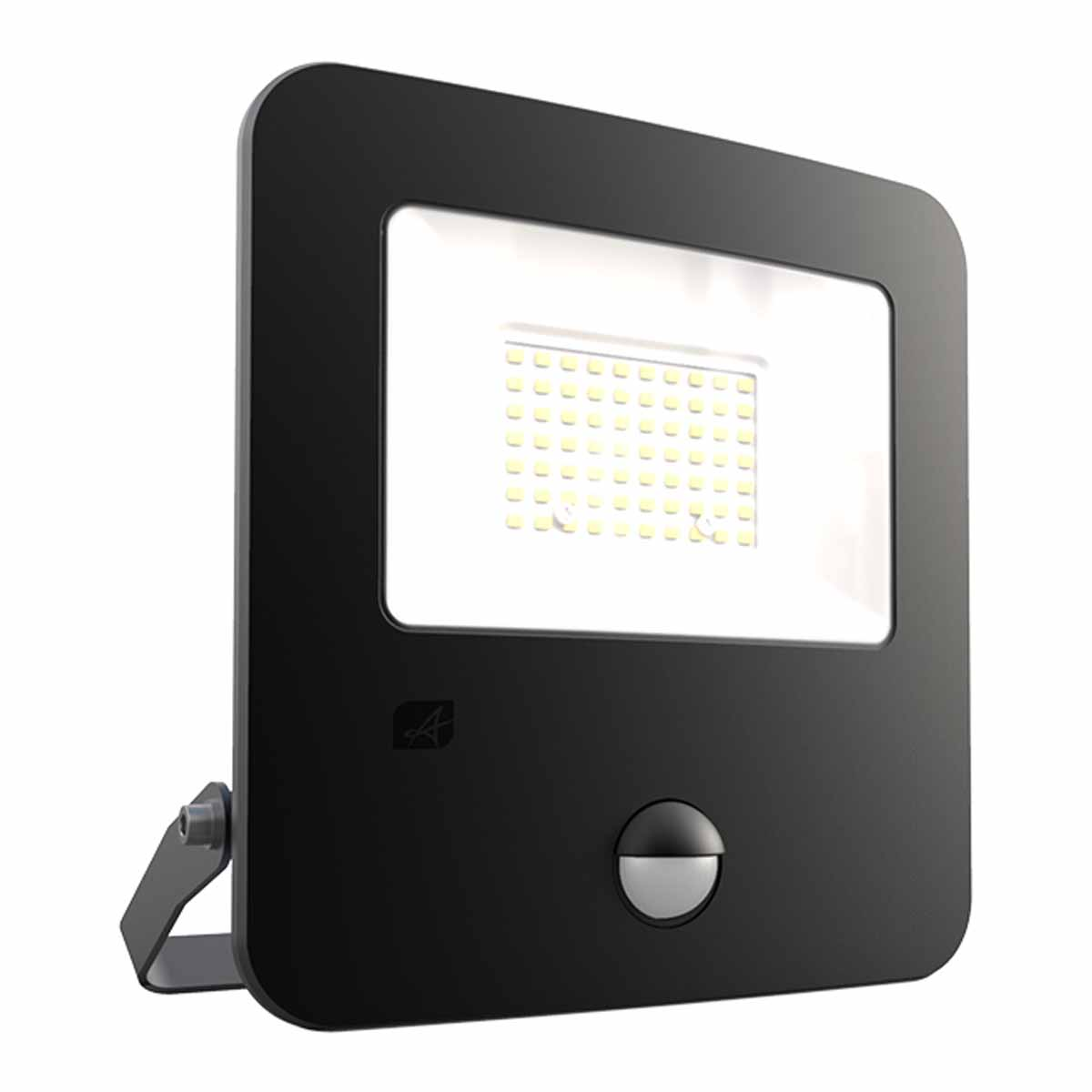 Ansell ZION LED POLYCARBONATE FLOODLIGHT - PIR -  COOL WHITE