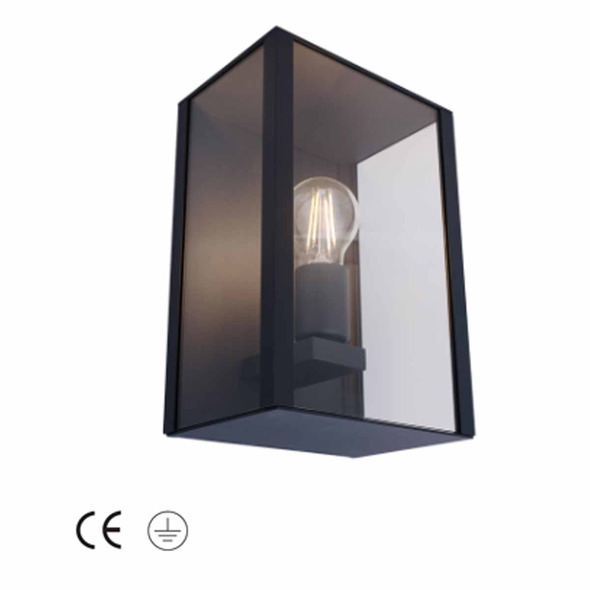Calore E27 Wall Lantern IP44