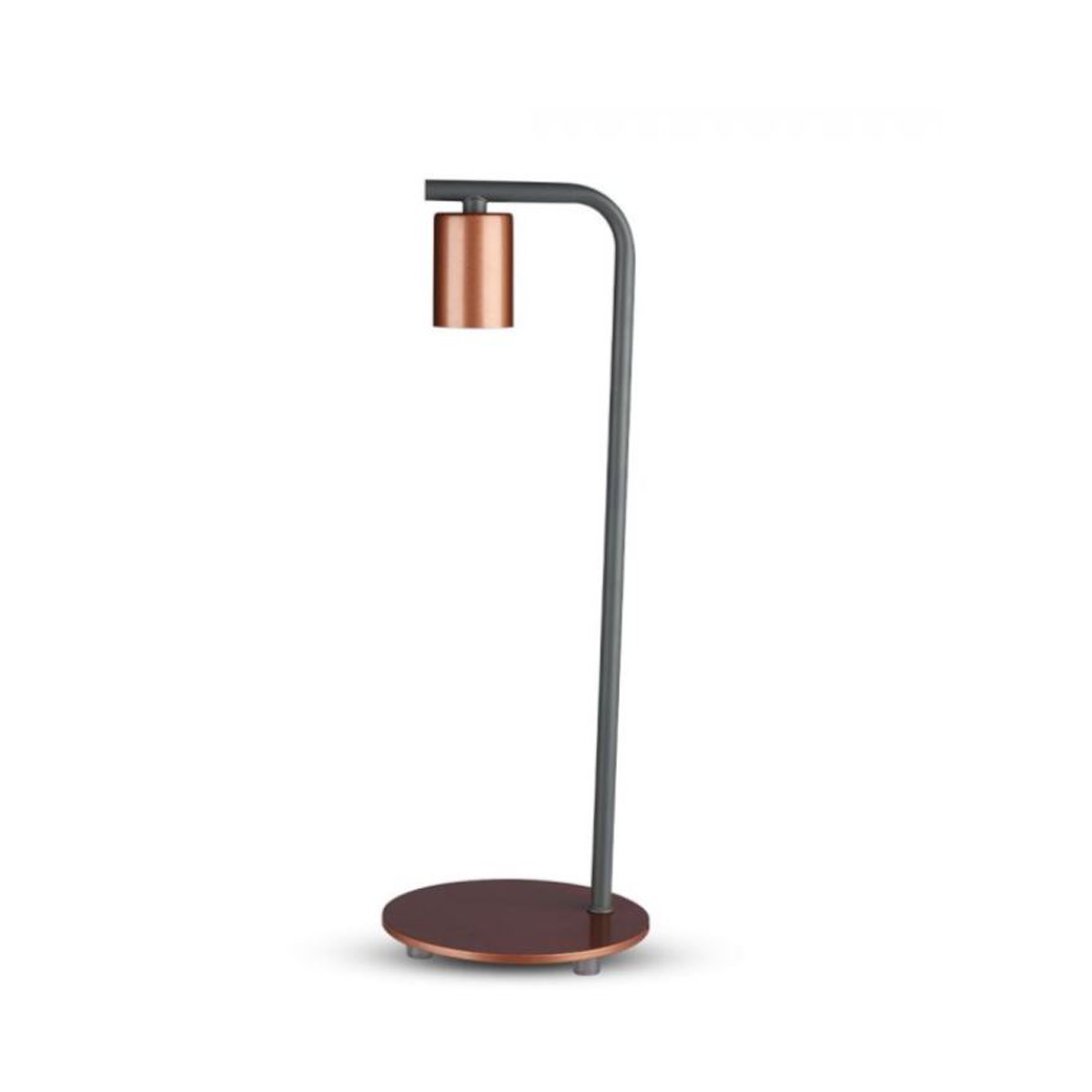 DESIGNER TABLE LAMP WITH SWITCH & E27 HOLDER-RED BRONZE