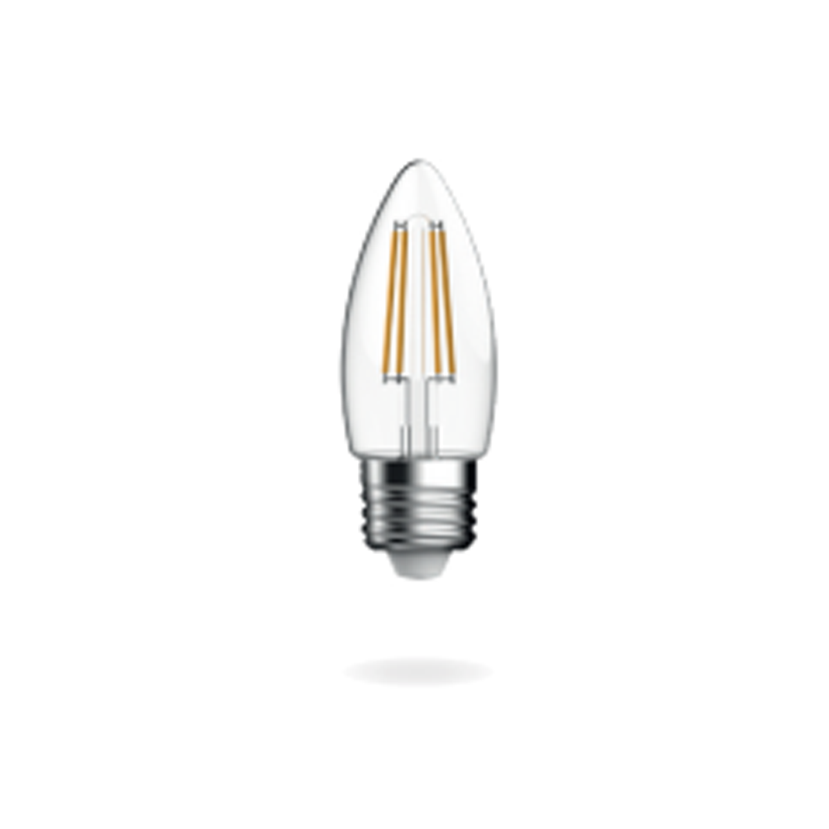 Energetic Candle E27 Dimmable Cool White 4.8W