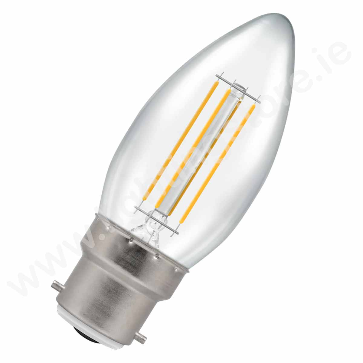 Energetic Candle B22 Dimmable Cool White 4.8W
