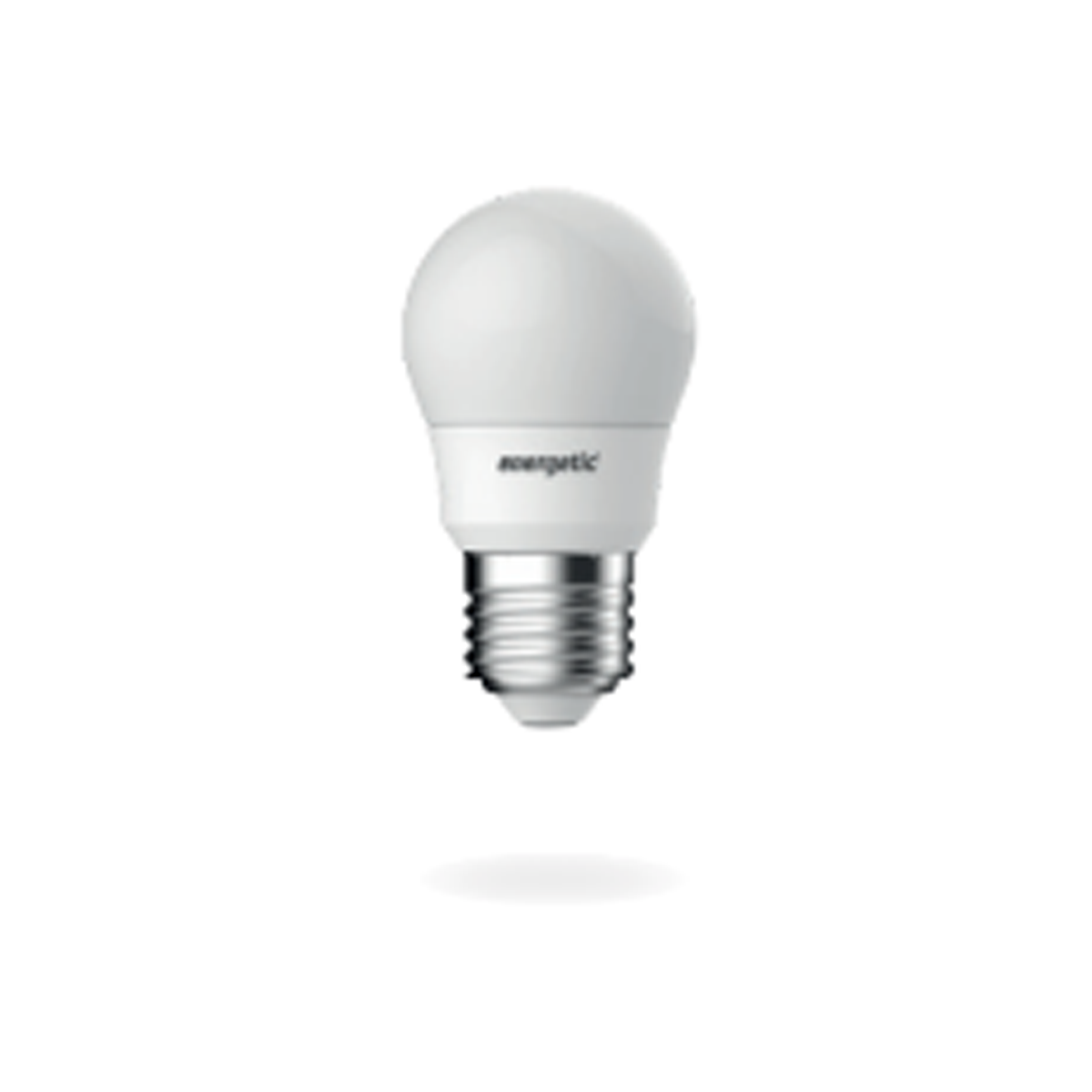Energetic E27 Globe Non Dimmable Soft Warm White 5.9W