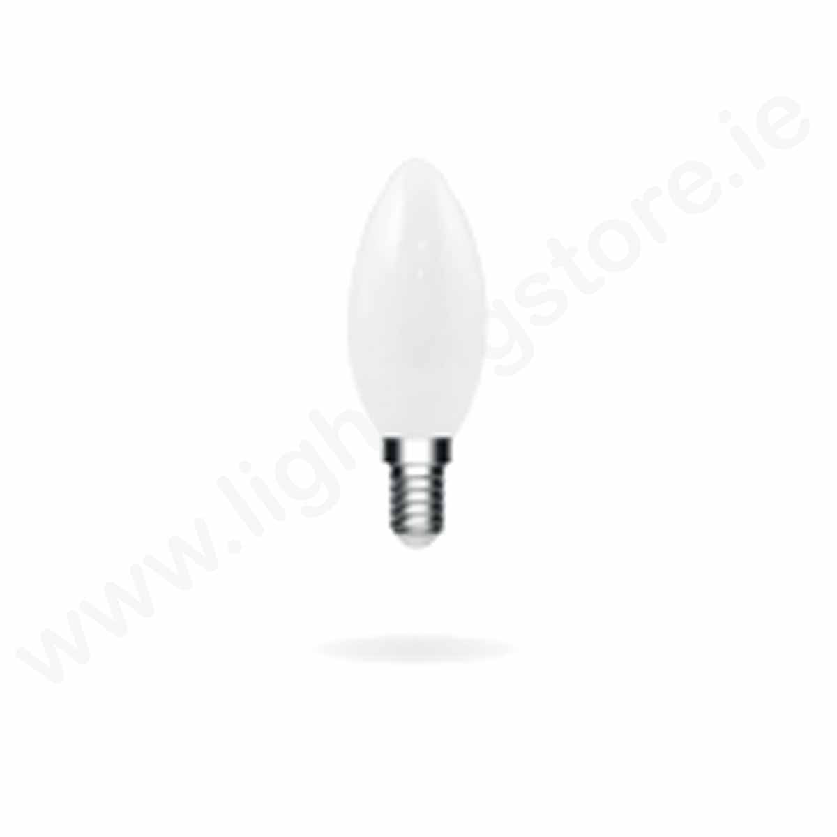 ENERGETIC E15 FROSTED CANDLE 5.4W 470LM WARM WHITE / DIMMABLE
