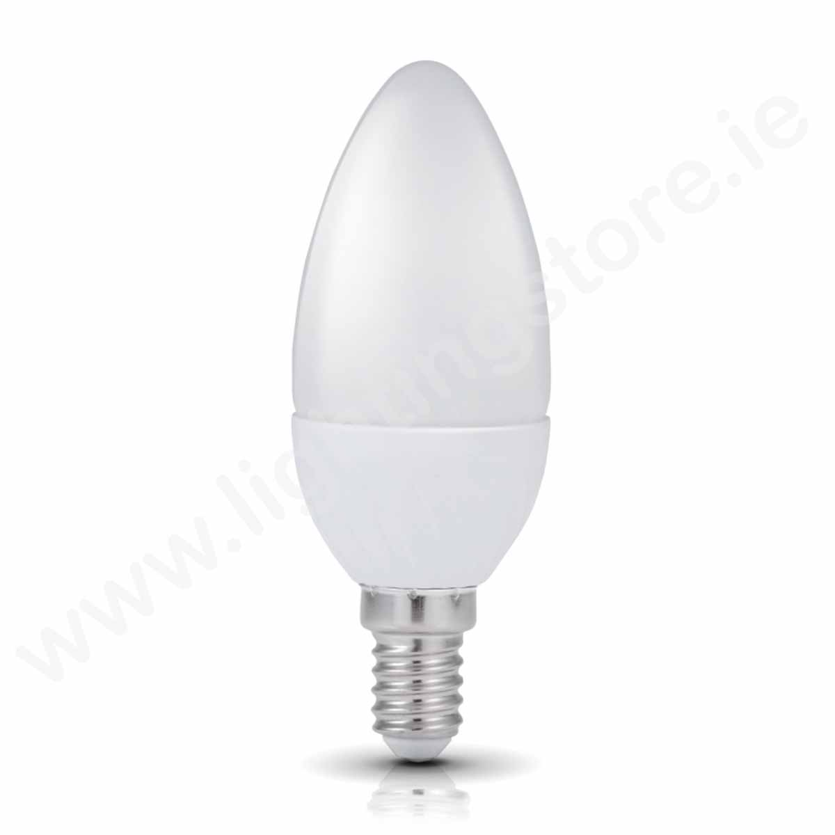Kobi Candle E14 Non Dimmable Warm White 6W