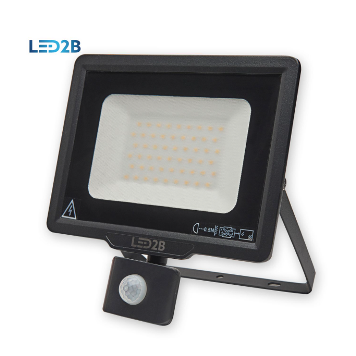 Kobi Motion Sensor Floodlight - 50W