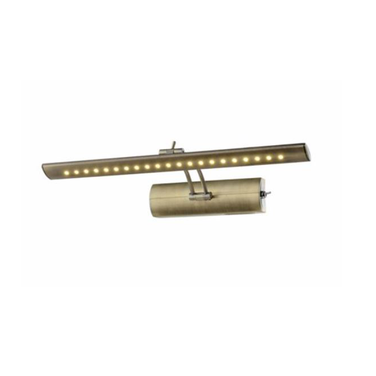 LED PICTURE LIGHT ANTIQUE BRASS