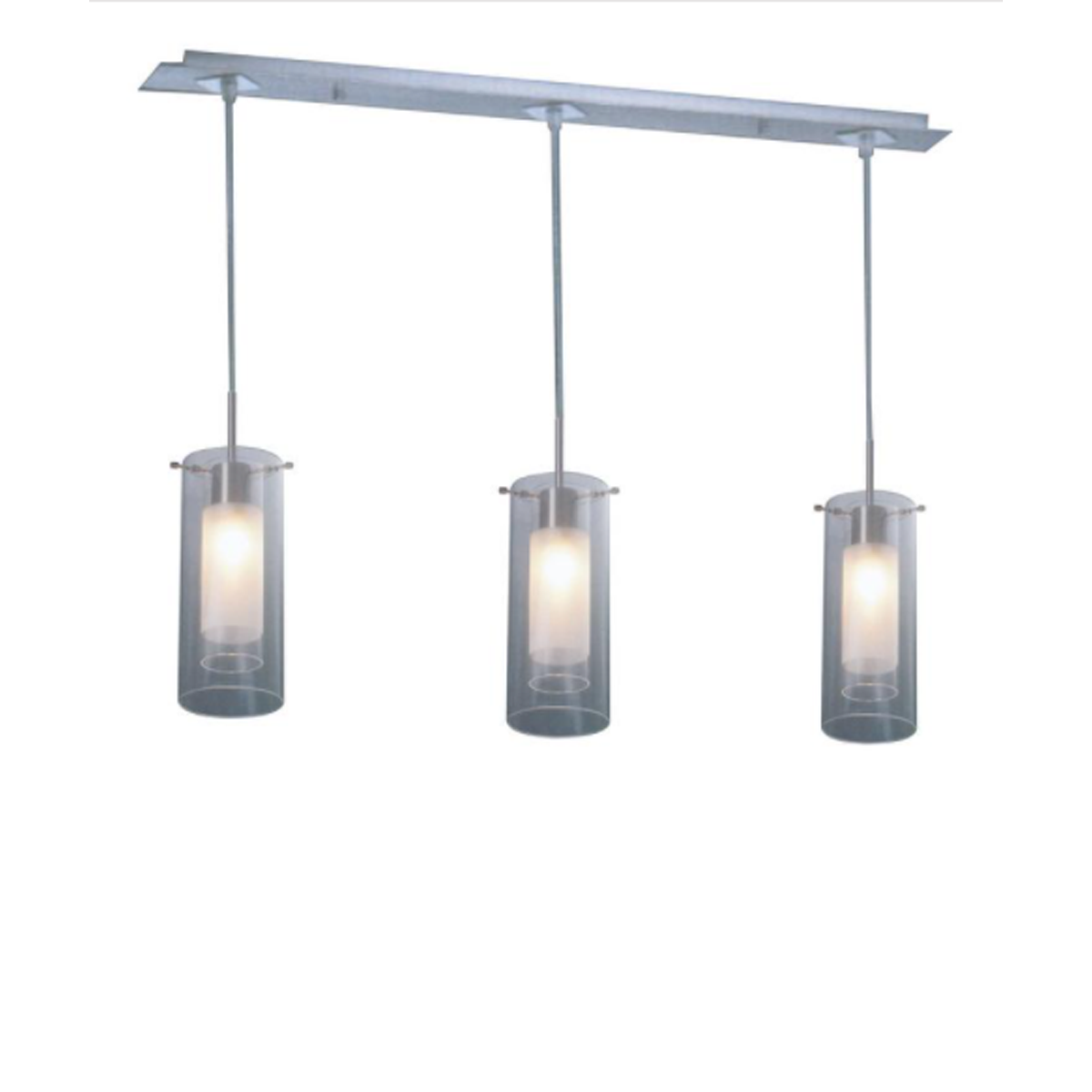 Muzanno 3 Light Glass Pendant