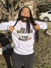 Load image into Gallery viewer, Real Dreams Change the World Hoodie