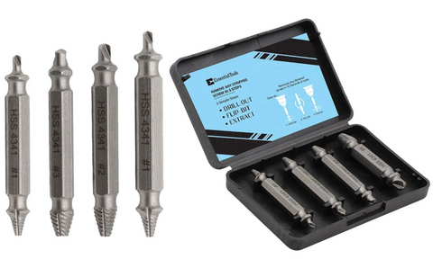 Stripped Screw Remover Set