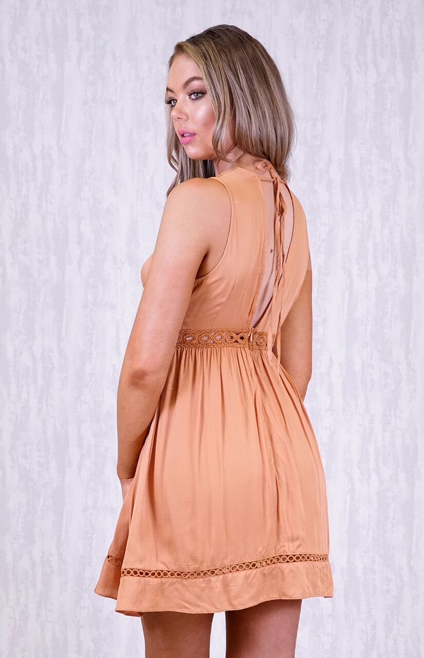 Ceto Tie Back Dress