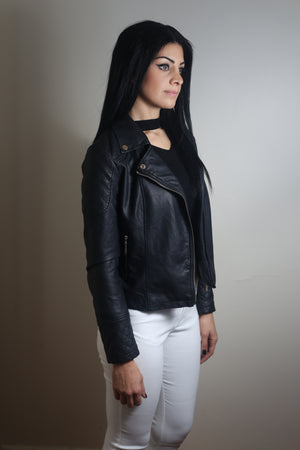 ELECTRA Faux Leather Jacket
