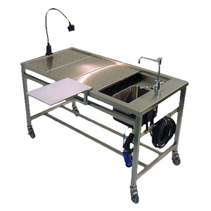 autopsy table with sink