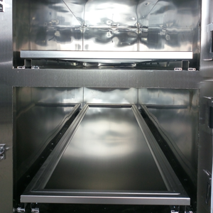 stainless steel rolling body tray