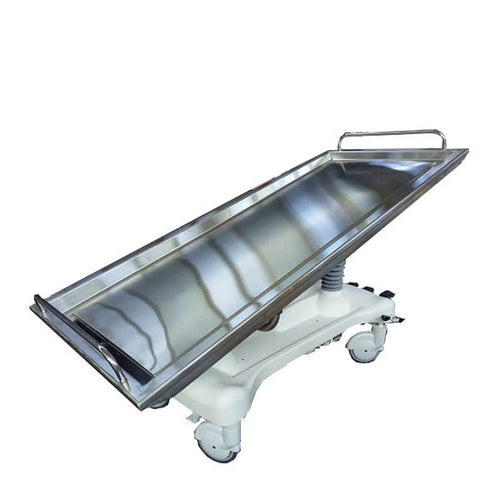 Hydraulic Autopsy and Embalming table Slaughter Supply