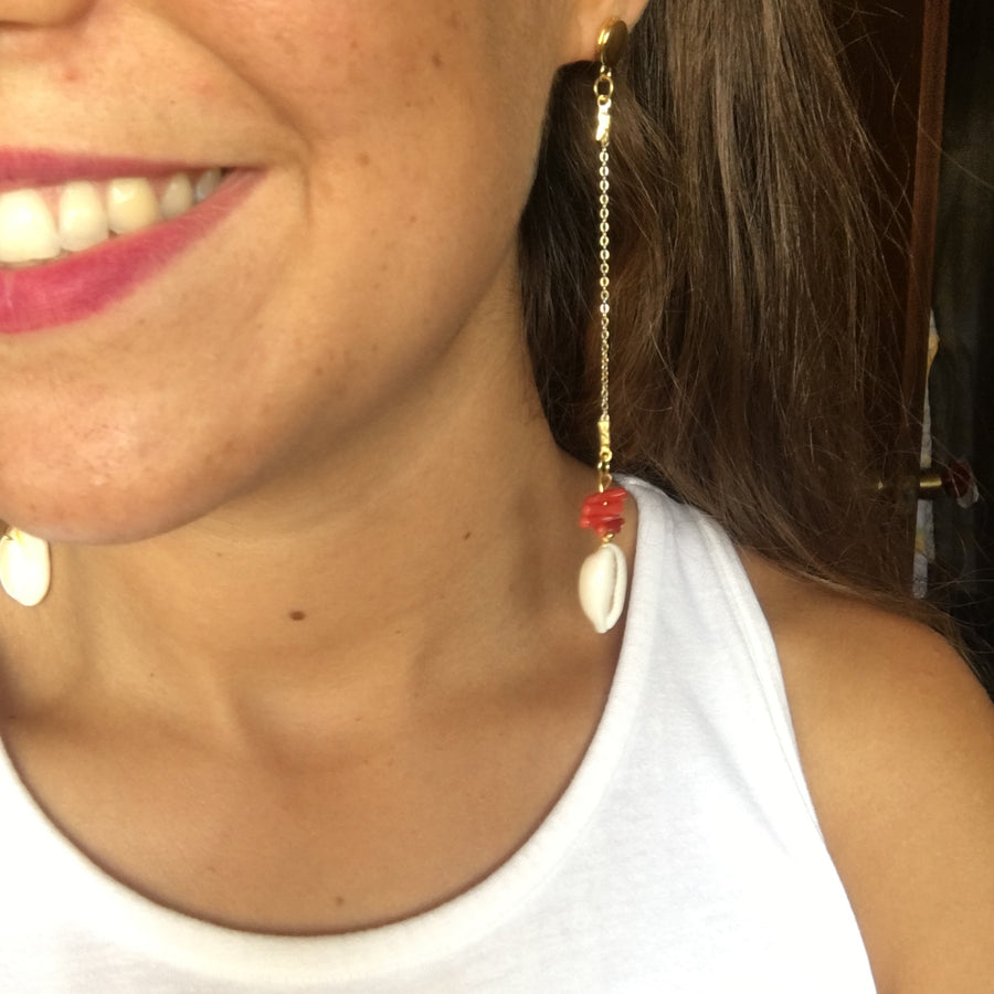 Eivissa Earrings Long