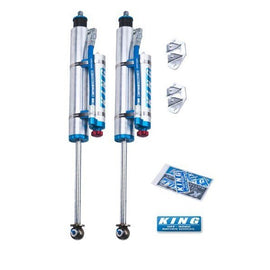King Off Road Racing OEM Performance Series 2.5 Shocks ( Adjustable Front Pair ) fits 1984-2001 Jeep Cherokee XJ
