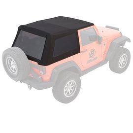 Bestop Trektop NX Glide Convertible Soft Top For 2007-2018 Jeep Wrangler jk