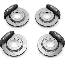 "TeraFlex Delta Brake Kit Front & Rear 8x6.5"" Bolt Pattern 07-20 Jeep Wrangler JK JL"