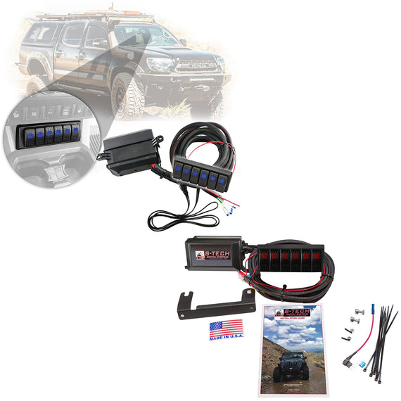 S-Tech 6 Switch System With Relays & Fuses for Toyota Tacoma 2016-2019