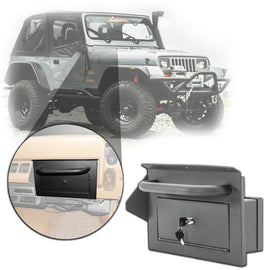 Smittybilt Vaulted Glove Box For 87-95 Jeep Wrangler YJ