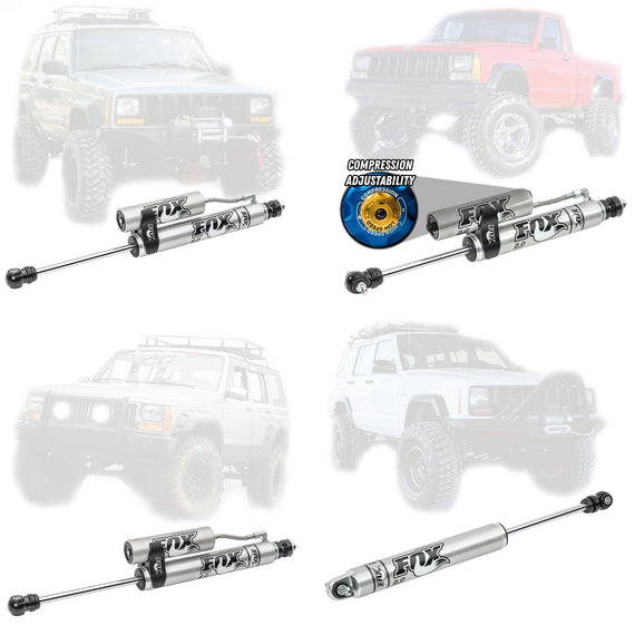 Fox 2.0 Performance Series Shocks For 1984-2001 Jeep Cherokee / Comanche XJ MJ